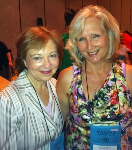 Ellen Edwards and I. She is so great to work with!